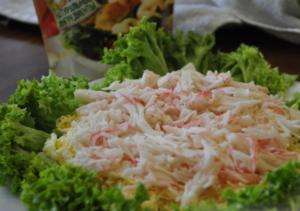 Дальше распределяем мясо раковых шеек